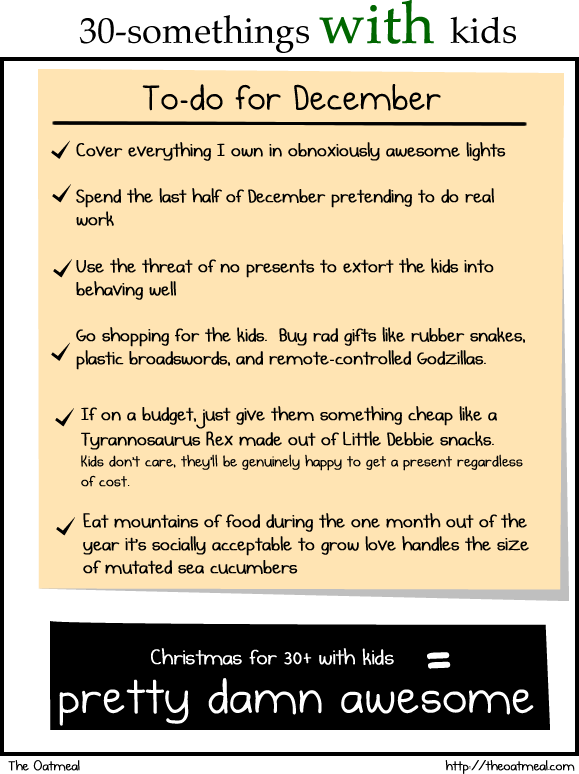 Christmas at 30: Without kids vs With kids