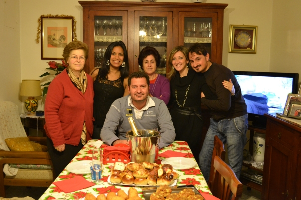 New Year's Eve at The Sgroi House in Palermo, Sicily