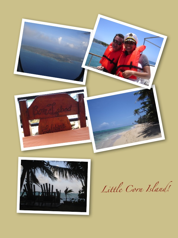 Little Corn Island Collage